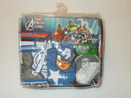 Marvel Avengers Assemble Boys Briefs 3 Pack Size 4 NWT - $10.99