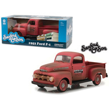 1952 Ford F-1 Pickup Truck Red Sanford and Son (1972-1977) TV Series 1/1... - $78.21