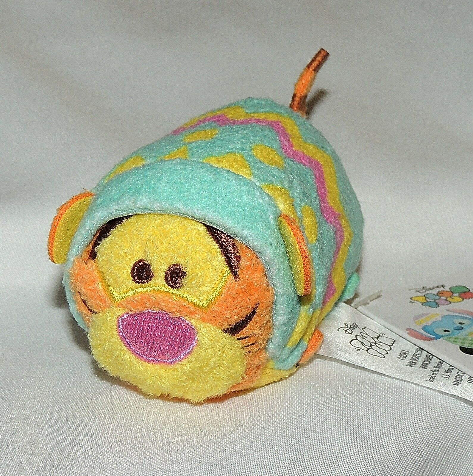 New Disney Tsum Tsum Winnie the Pooh Tigger Plush Easter Egg Polka Dots