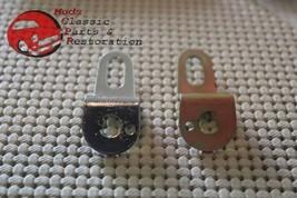 69-80 Chevy Corvette Door Lock Cylinder Pawls Bracket Latch Lever RH LH Pair - $15.37
