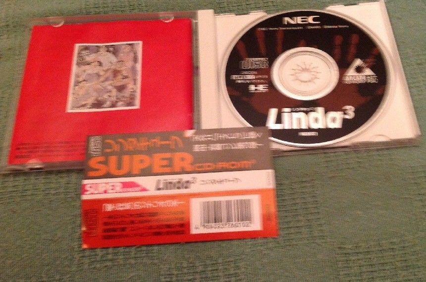 PC Engine CD ROM Linda 3, Excellent