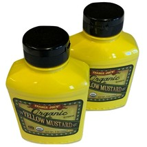 Organic Yellow Mustard Trader Joe's 2 Pack 9oz Each USDA Certified And T... - $12.05