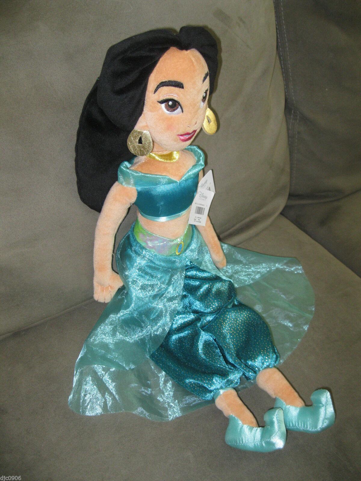 "Aladdin's Jasmine 20"" Plush Doll Soft Stuffed Toy Figure-New!!!Jasmine Plush-New"