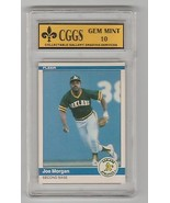 1984 Fleer Update U-80 Joe Morgan HOF GEM MINT 10 Cggs - $8.06