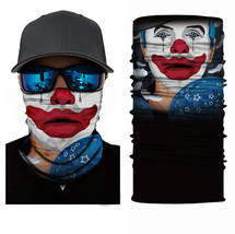 Crazy Cool KLOWN Winter Face Mask Bandanas Headband Multi Headwear Scarf #1 - $4.94
