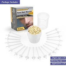 Nose Wax Kit for Men and Women, Nose Hair Removal Wax 50 grams / 10 times usage  image 4