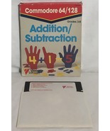 ADDITION SUBTRACTION Commodore 64 Educational Software In Box TESTED & W... - $11.87