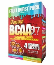 Mutant BCAA 9.7 | Instantized 9.7g Amino Acids 2:1:1 Ratio | Fruit Burst... - $7.91