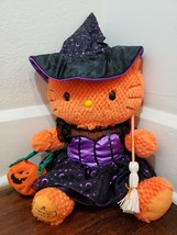 "Build-A-Bear 18"" Hello Kitty Halloween Plush with Witch Costume - $34.82"