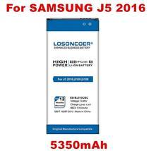 LOSONCOER 5350mAh EB-BJ510CBC Battery for Samsung Galaxy J5 2016 Edition j5109 j - $18.77