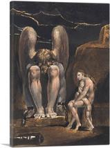 ARTCANVAS America - A Prophecy - Plate 1 Canvas Art Print by William Blake - $43.99+