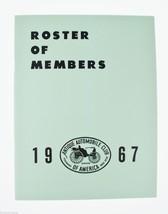 Antique Automobile Magazines 1967 Roster of Members Antique Automobiles,... - $10.00