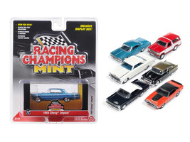 Mint Release 2 Set C Set of 6 cars Limited Edition  1/64 Diecast Model C... - $63.34