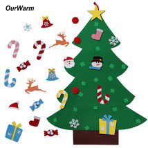 Christmas Tree DIY Ornaments Children Xmas Decoration Gifts Door Wall Ha... - $24.90