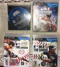 PLAYSTATION 3 MLB THE SHOW GAME LOT 10.11,12,13 - $18.80