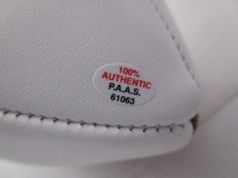BO JACKSON / NCAA HALL OF FAME / AUTOGRAPHED OAKLAND RAIDERS WHITE FOOTBALL COA image 5