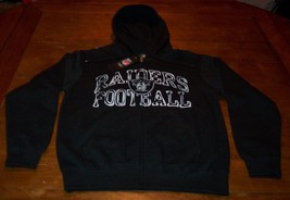 OAKLAND RAIDERS NFL FOOTBALL NFL HOODED HOODIE SWEATSHIRT SMALL NEW w/ TAG - $49.50