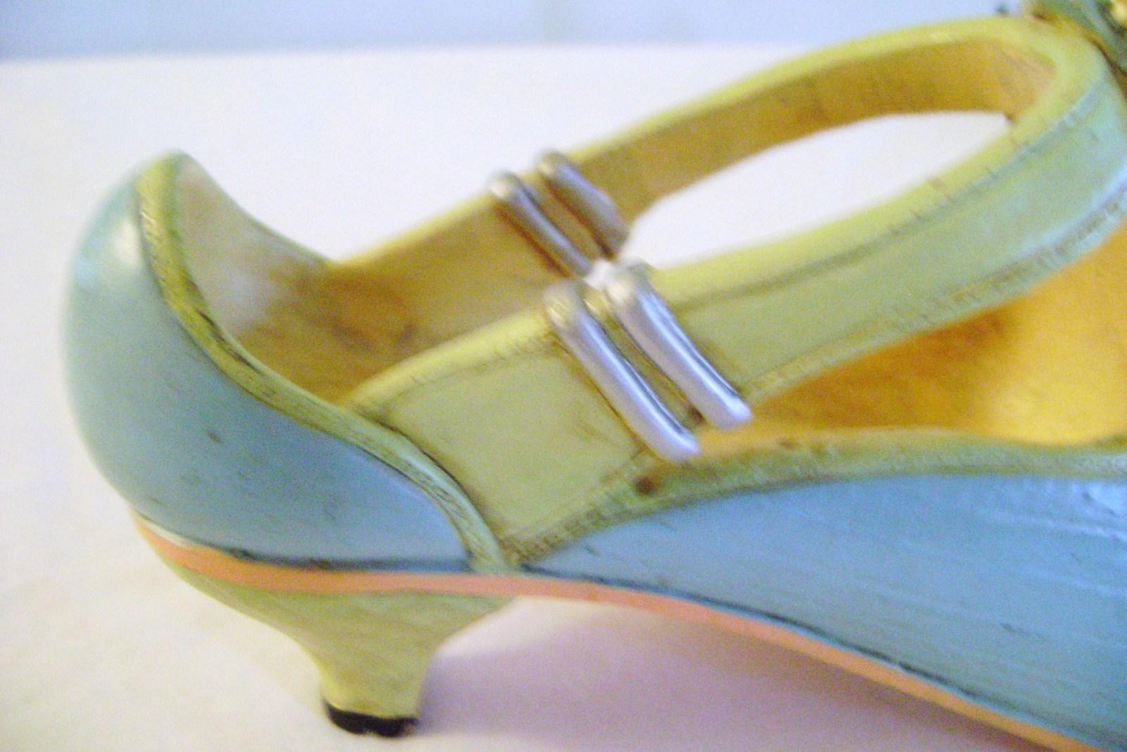 Victorian Ladies Decorative Shoe Collectible
