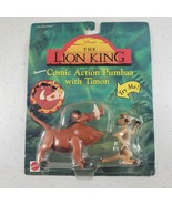 Vintage Lion King Comic Action Pumbaa w/ Timon Disney Sealed Rare Collec... - $22.95