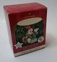 Hallmark Ornament Archives Series #3 1999 Disney Minnie Trims the Tree - $9.57