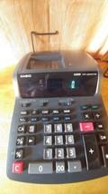 Black Casio FR-2650TM Two-Color Printing Desktop Calculator 12-Digit Dig... - €22,07 EUR