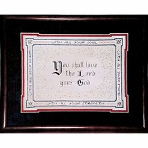 Commandment Counted Cross Stitch Kit 13 x 11 Vintage 1989 Connie Abel c1484 - $16.99
