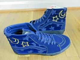 Vans X Disney Mens Sk8-Hi Sorcerers Apprentice Mickey Mouse Blue Shoes S... - $103.94