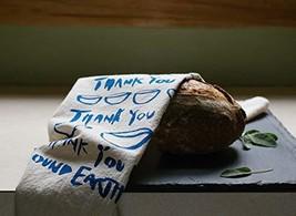 Hand-printed Holiday Gift Set / 3 Flour Sack Tea Towels - $36.51