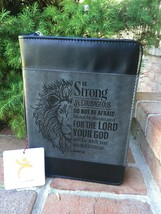 NEW Bible Cover/Case Joshua 1:9 Be strong and Courageous Bible verse Siz... - $19.99