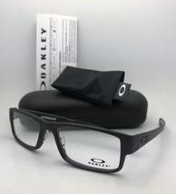 New OAKLEY Eyeglasses AIRDROP OX8046-0157 XL Large 57-18 143 Satin Black Frames - $219.95