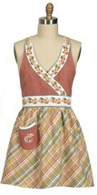 Kay Dee Designs Time To Share Hostess Apron Cotton Kitchen - $29.99