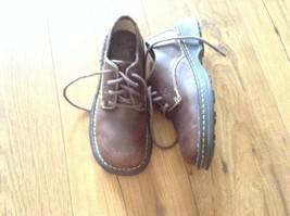 BORN Honesty Brown Leather oxfords lace sz 6.5 US 37 euc - $25.00