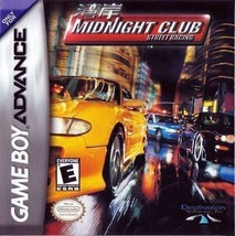Midnight Club: Street Racing (Nintendo Game Boy Advance, 2001) - $4.45