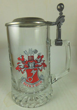 Beck's Bier (Beer) Glass Stein Beer Mug w/ Lid - $5.77