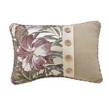 Croscill Anguilla Boudoir Throw Pillow in Taupe/Green - $817,36 MXN