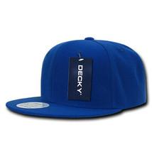 Snapback Cap - Royal Blue, Acrylic Hat (Decky 350-RYL, New with Tags) - £5.40 GBP