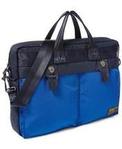 $250.00 Polo Ralph Lauren Men's Military Nylon Briefcase, Blue/Black - $133.65