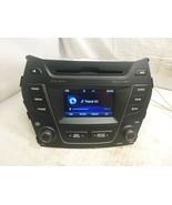 13 14 15 16 Hyundai Santa Fe Radio Cd MP3 Bluetooth 96180-4Z1014X YNC06 - $99.00