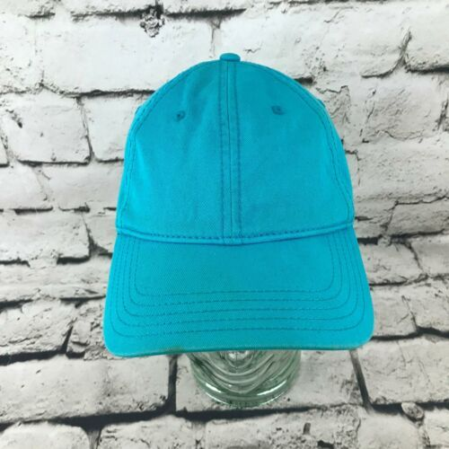 Tropical Trends Unisex One Sz Hat Sky Blue Strapback Baseball Cap 100% Cotton image 1