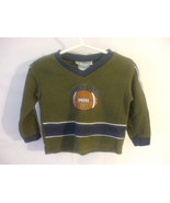 Toddlers Green Shirt Long Sleeves 18 Months Cotton Blend Wilson - $14.85