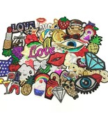 24pcs/lot Assorted Iron-on Or Sew-on Embroidered Patch Motif Applique Se... - $19.83