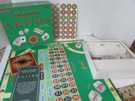 GAME PLAN CAESARS PALACE CASINO GAME 1995 GAME OF SKILL AND LUCK - $12.72