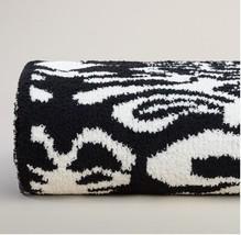 Kashwere Damask Black and Cream Throw Blanket - $175.00