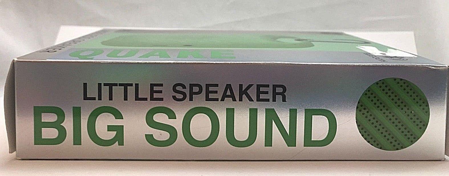 NEW iHip Quake Wireless Speaker - Green