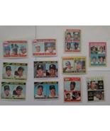 1960 & 1970 ROOKIES LOT REGGIE SANDERS, KEITH HERNANDEZ - $24.75