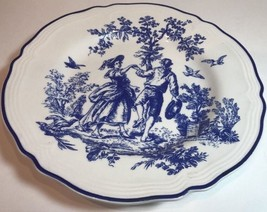 """TOILE"" New England Salad Plate Tabletops Unlimited (Oven Safe) - $14.84"
