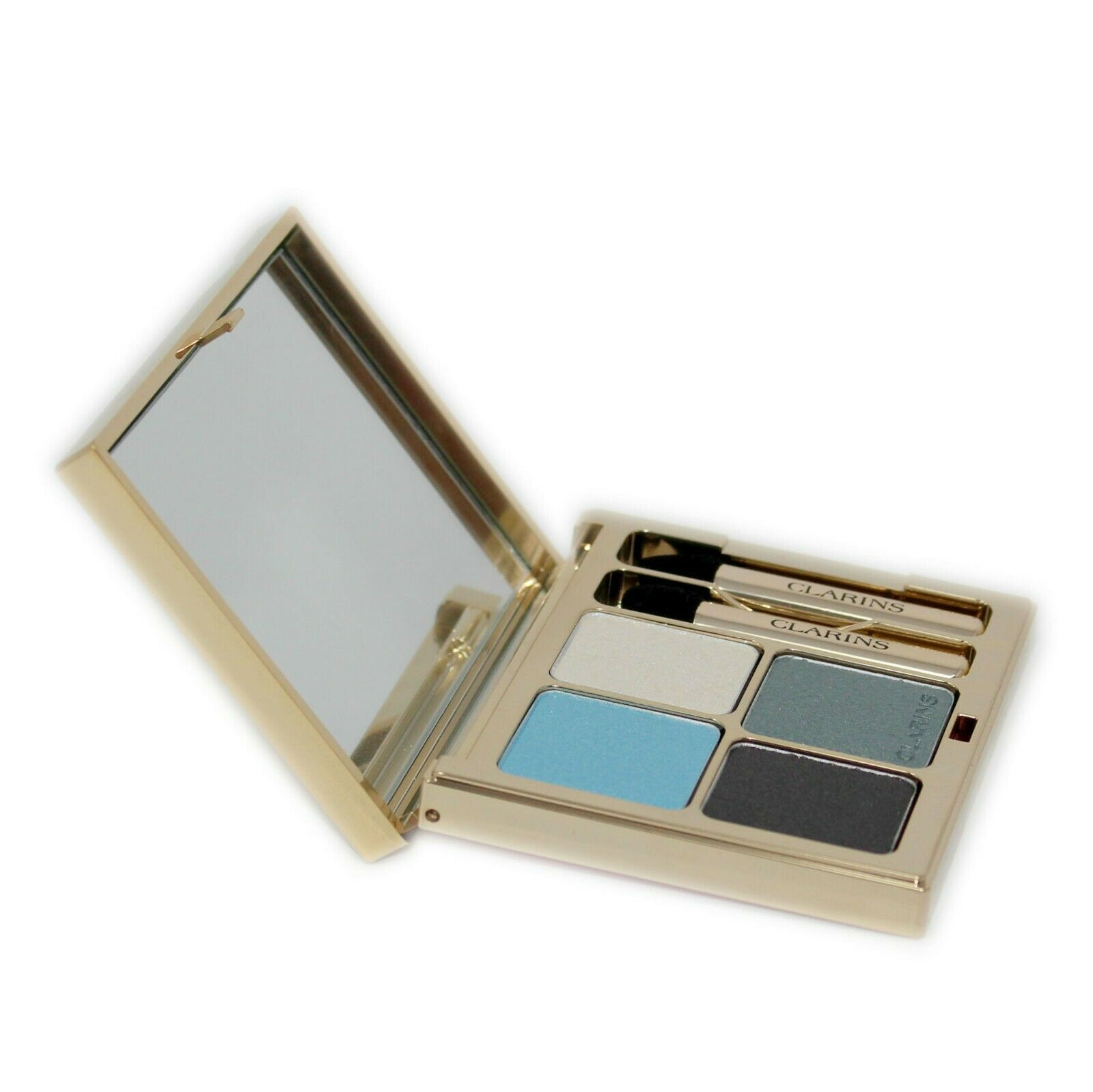 Primary image for CLARINS OMBRE MINERALE 4 COULEURS EYE QUARTET MINERAL PALETTE 5.8G #08-BLUE SKY