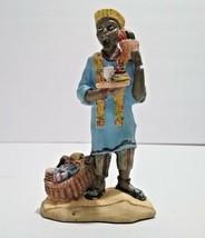 Vtg 1994 Figurine International Santa Claus Collection Africa St Nichola... - $19.09