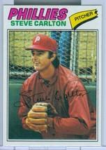 1977 Topps #110 Steve Carlton Nice Shape - $4.99