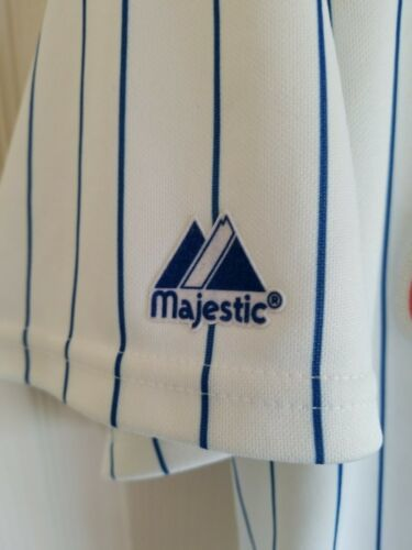 MLB Majestic New York NY Mets # 44 Jason Bay Stitched Jersey USA Made Size XL